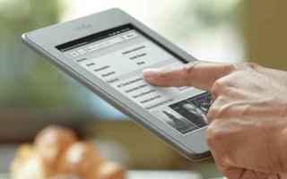 Tablet: ebook reader  libri digitali