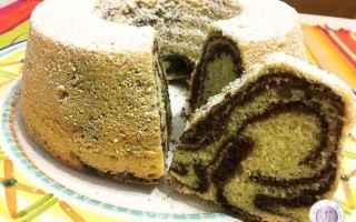 Ricette: ciambella  cacao  vaniglia