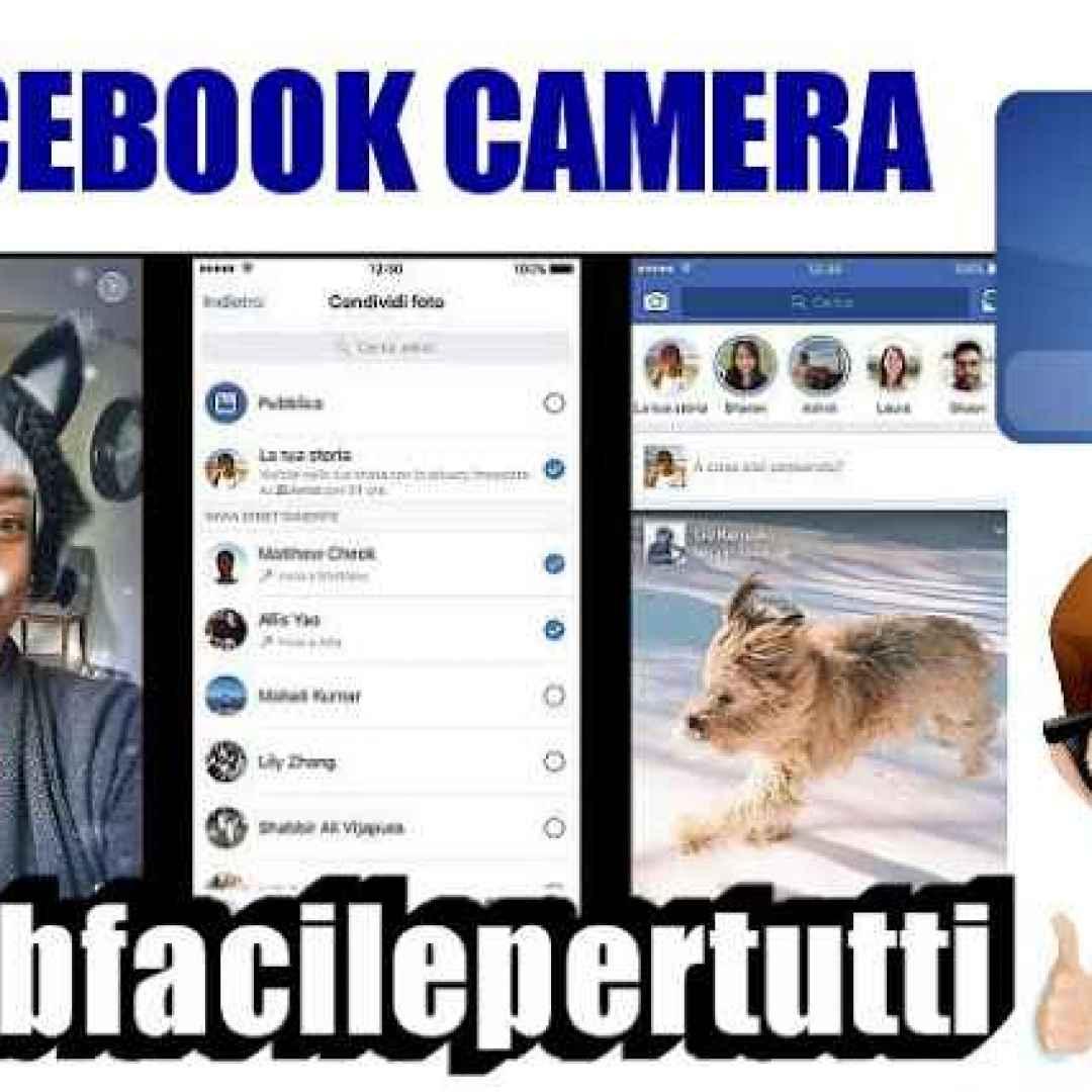 facebook facebook camera effetti stories