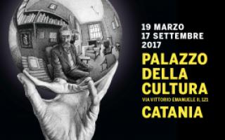 Arte: escher  catania  arte  sicilia  cultura