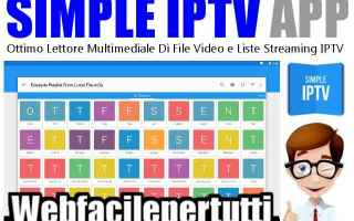 Software Video: simple iptv  iptv  app  android