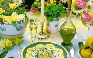 Ricette: stoccafisso  cucina siciliana  insalata