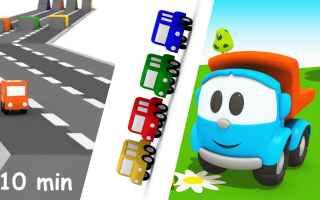 cartoni animati  bambini  gare di corsa