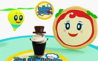 cartoni animati  bambini  cioccolato