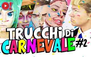 carnevale  make up  trucco  maschera