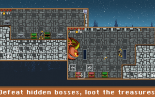Mobile games: android roguelike indie game pixel art