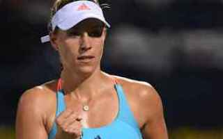 Tennis: tennis grand slam kerber dubai