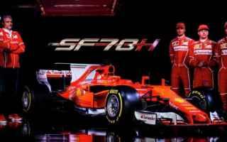Formula 1: f1  ferrari  sf70h  presentazione
