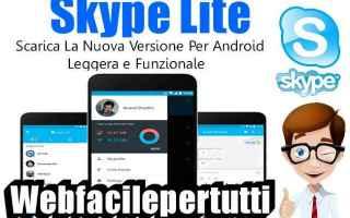 App: skype lite skype app lite