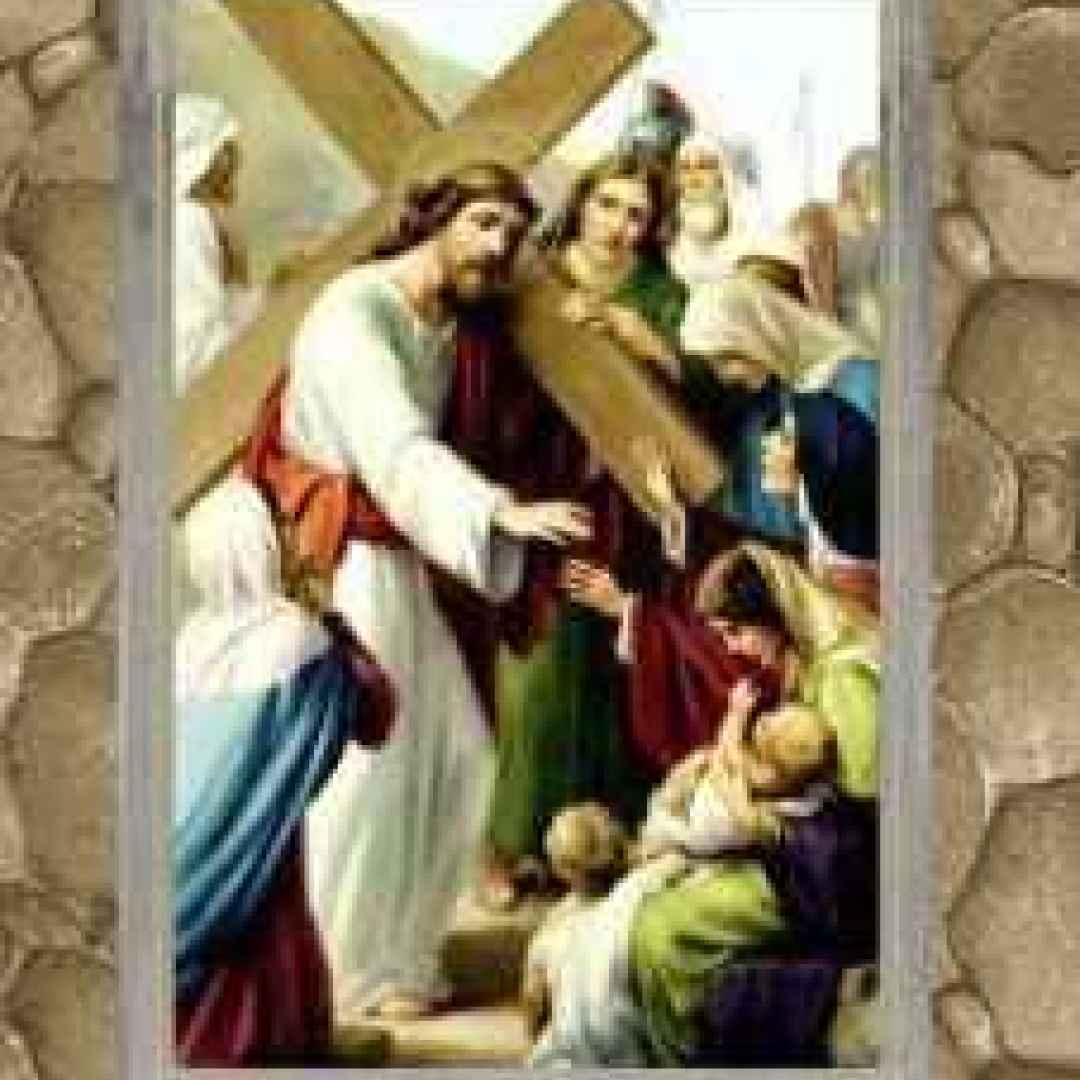 via crucis  don tonino bello  gesù