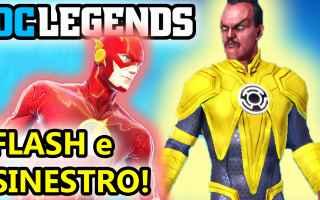 Manga - Fumetti: dc legends  supereroi  android  azione