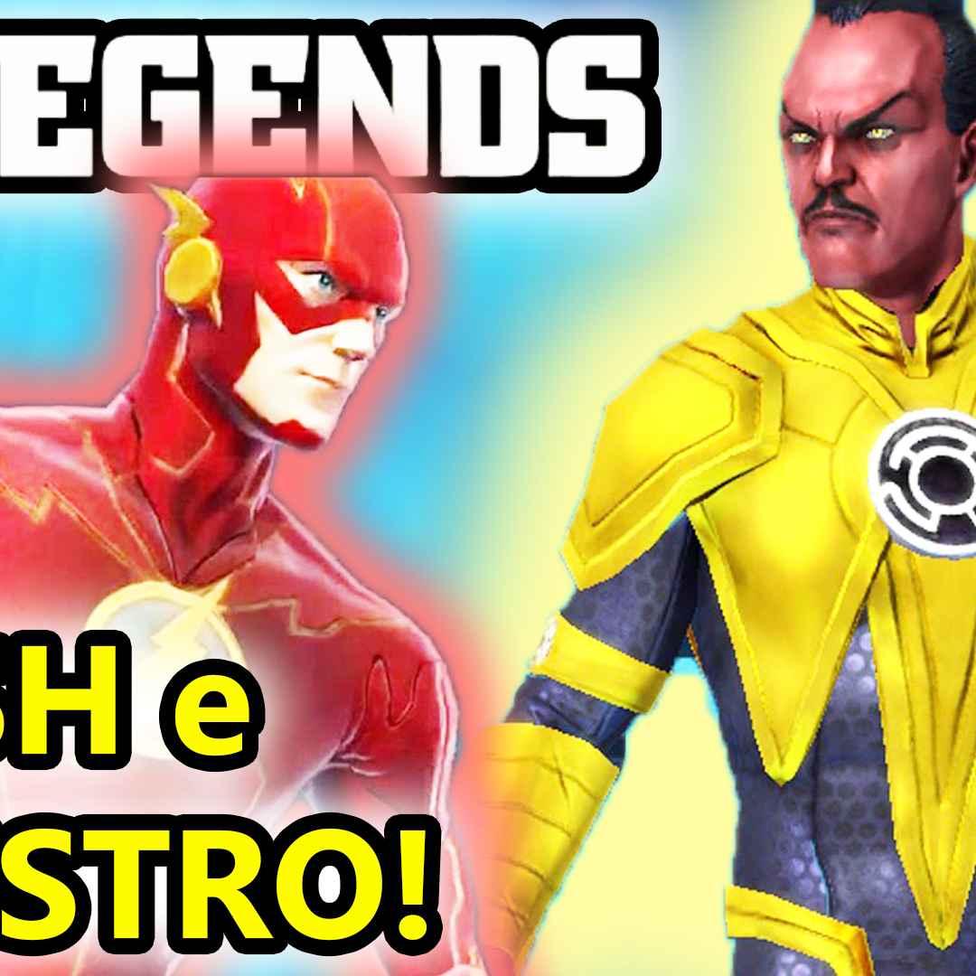 dc legends  supereroi  android  azione