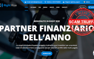 Sicurezza: right rise  truffa  autovelox  soldi