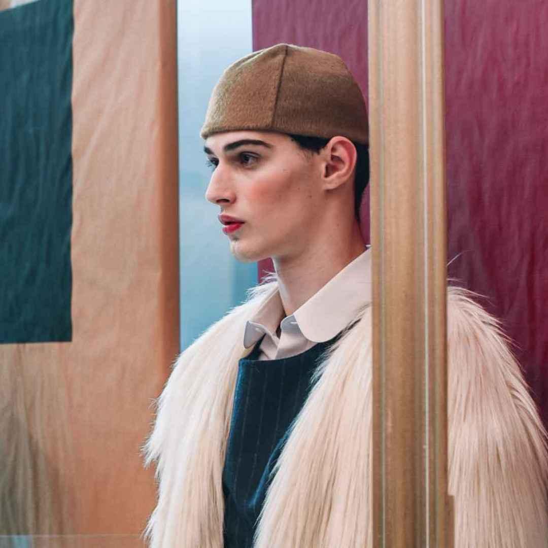genderless  fashion. fashion week  milan