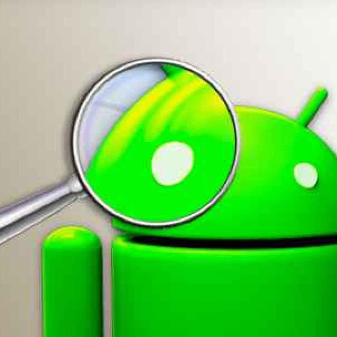 android utility applicazioni lente