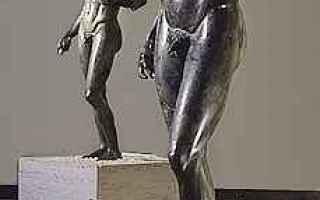 Cultura: bronzi di riace  magna grecia  statue