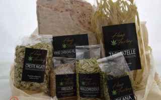 Gastronomia: canapa  stupefacenti  proprietà  hemp