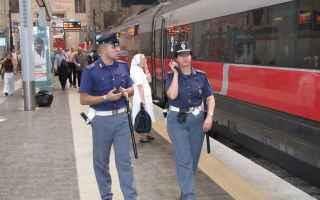 I servizi di presenziamento sui convogli, condotti dagli agenti della Squadra Amministrativa e della