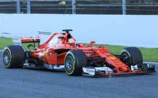 Formula 1: f1  ferrari  test  barcellona  sf70h