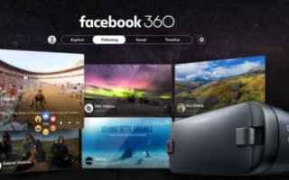 Facebook: facebook 360  realtà virtuale  apps