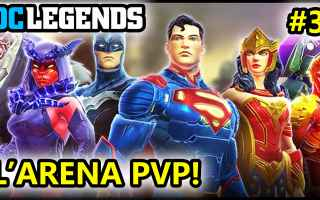 Mobile games: dc legends  supereroi  android  azione