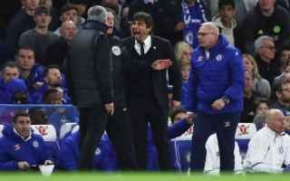 Calcio Estero: conte  mourinho  lite  discussione  facupm chelsea  manchester united