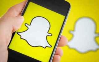 Foto online: snapchat  social network