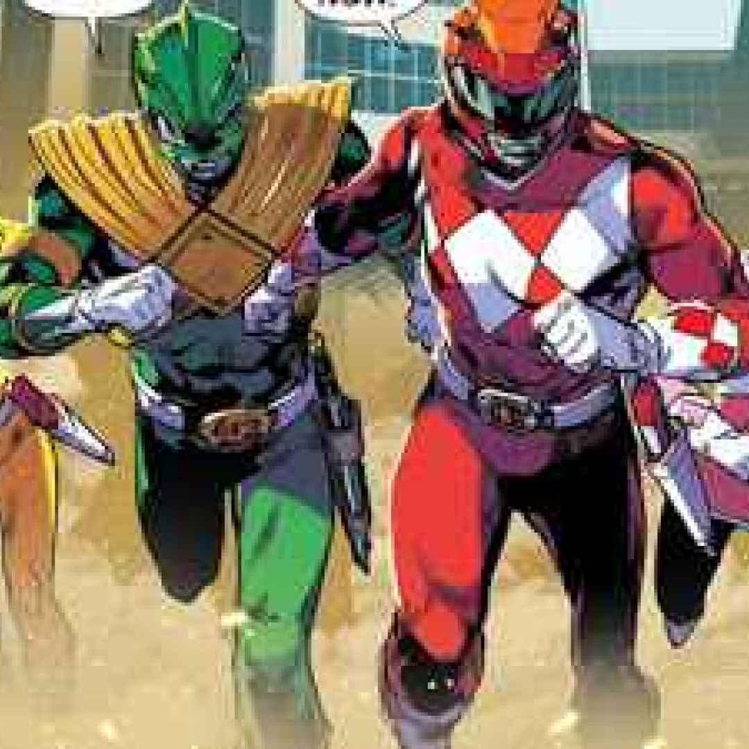 comic book  fumetti  power rangers