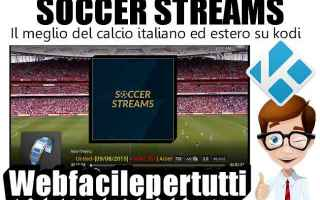 File Sharing: kodi  soccer  addon  soccer streams