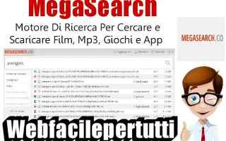 File Sharing: mega search mega film  mp3  giochi