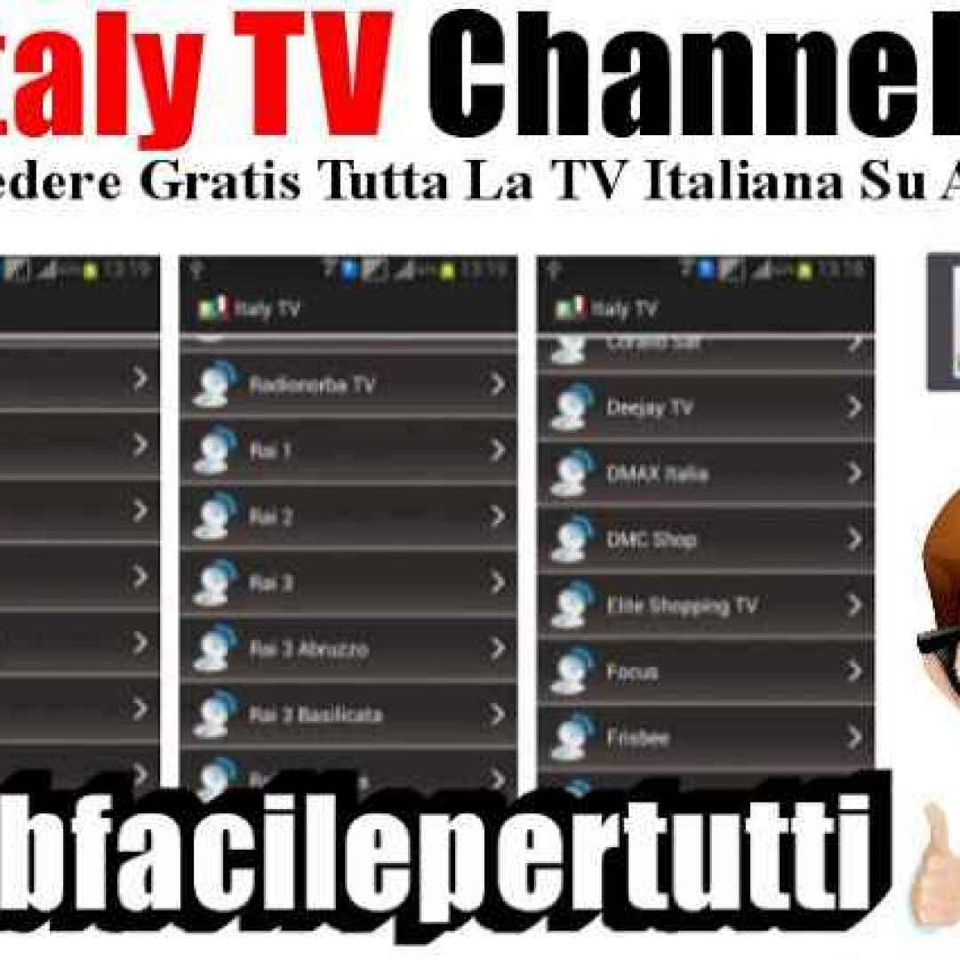 italy tv channels app streaming tv