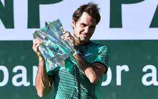 Tennis: tennis grand slam federer indian wells