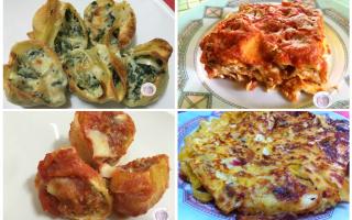 Ricette: primi  pasta  forno