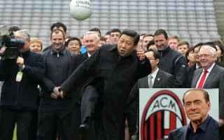 Sempre più a rischio il 'closing' del Milan. Il vice governatore Gongsheng parla in generale de