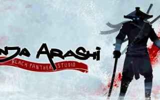 Mobile games: android videogames ninja platform game