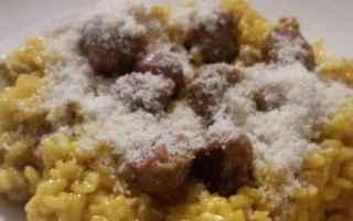 Ricette: risotto zafferano salsiccia