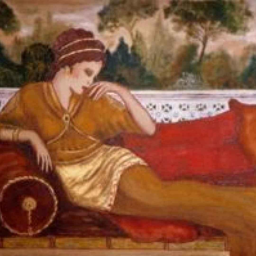 alcool  donne  antica roma