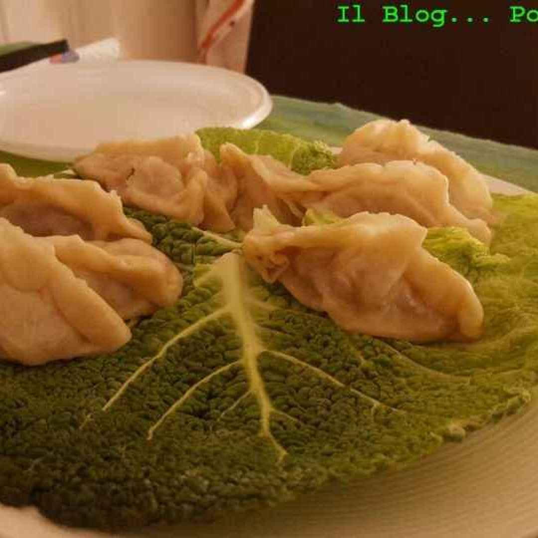 ravioli  cinese  carne  vapore