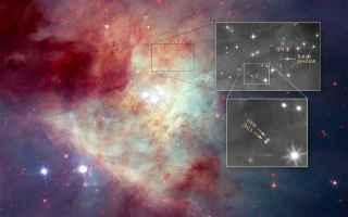 Astronomia: hubble  stelle fuggitive