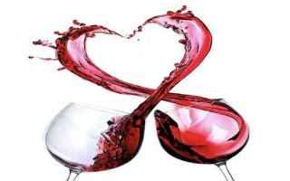Alimentazione: cuore  vino  infarto  cardiologia