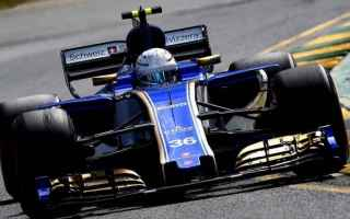 Formula 1: giovinazzi  shangai  sauber