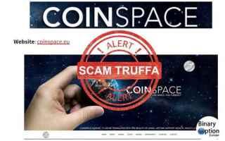 Borsa e Finanza: coinspace  truffa  criptovalute  bitcoin