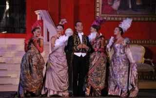 la vedova allegra  operetta  teatro