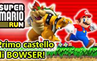 Mobile games: super mario run  android  nintendo