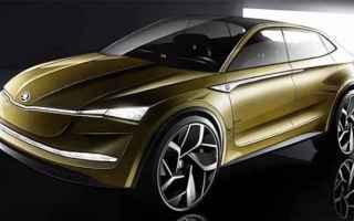 Automobili: skoda  shangai  e-car  guida autonoma