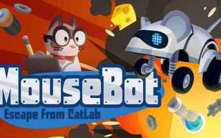 Mobile games: mousebot  videogame  games