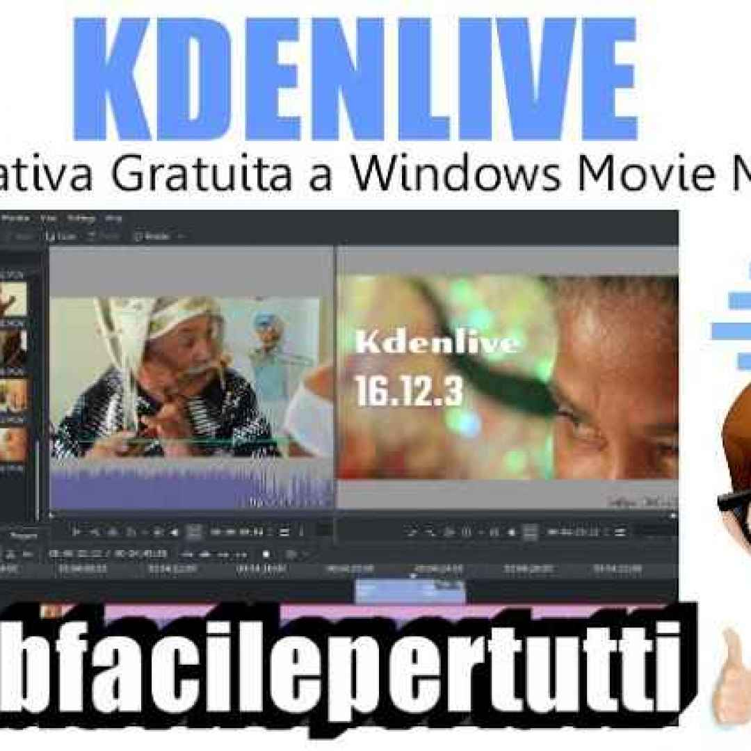 kdenlive alternativa window movie maker