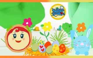 cartoni animati  bambini  uova di pasqua
