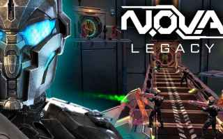 Mobile games: nova legacy  sparatutto  android  fps