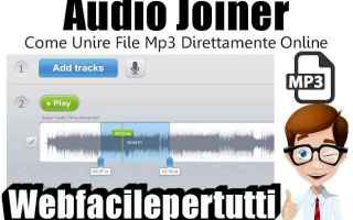 Audio: audio joiner  mp3